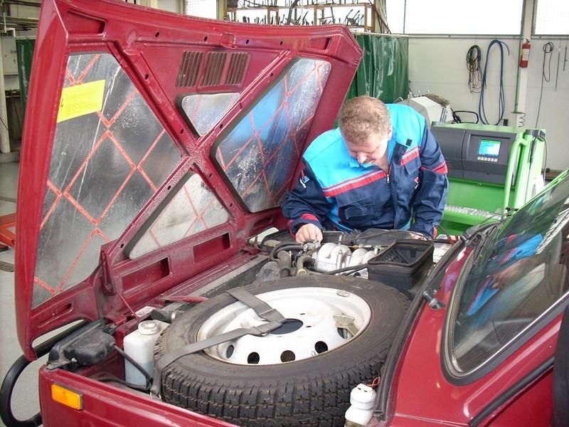 Dijagnosticiranje kvara na vozilu Lada Niva 4x4